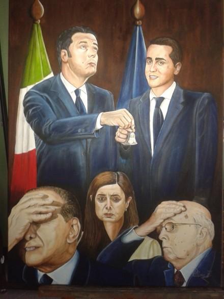 prima o poi succede...... Renzi - Di Maio